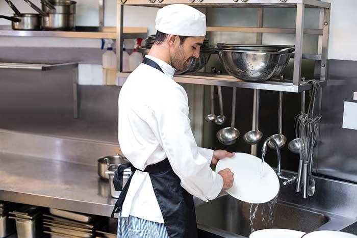Clean Commercial Kitchen