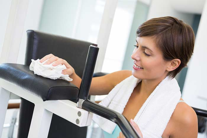 Keeping Your Gym Clean