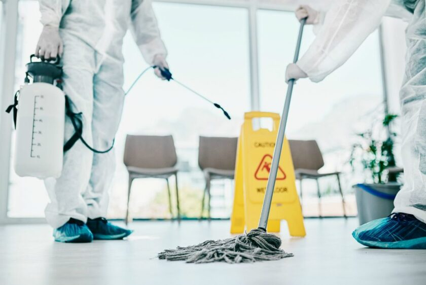 Deep Cleaning COVID